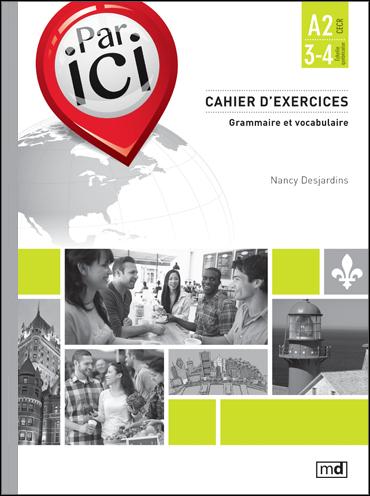 Par ici – cahier d'exercices A2/3-4