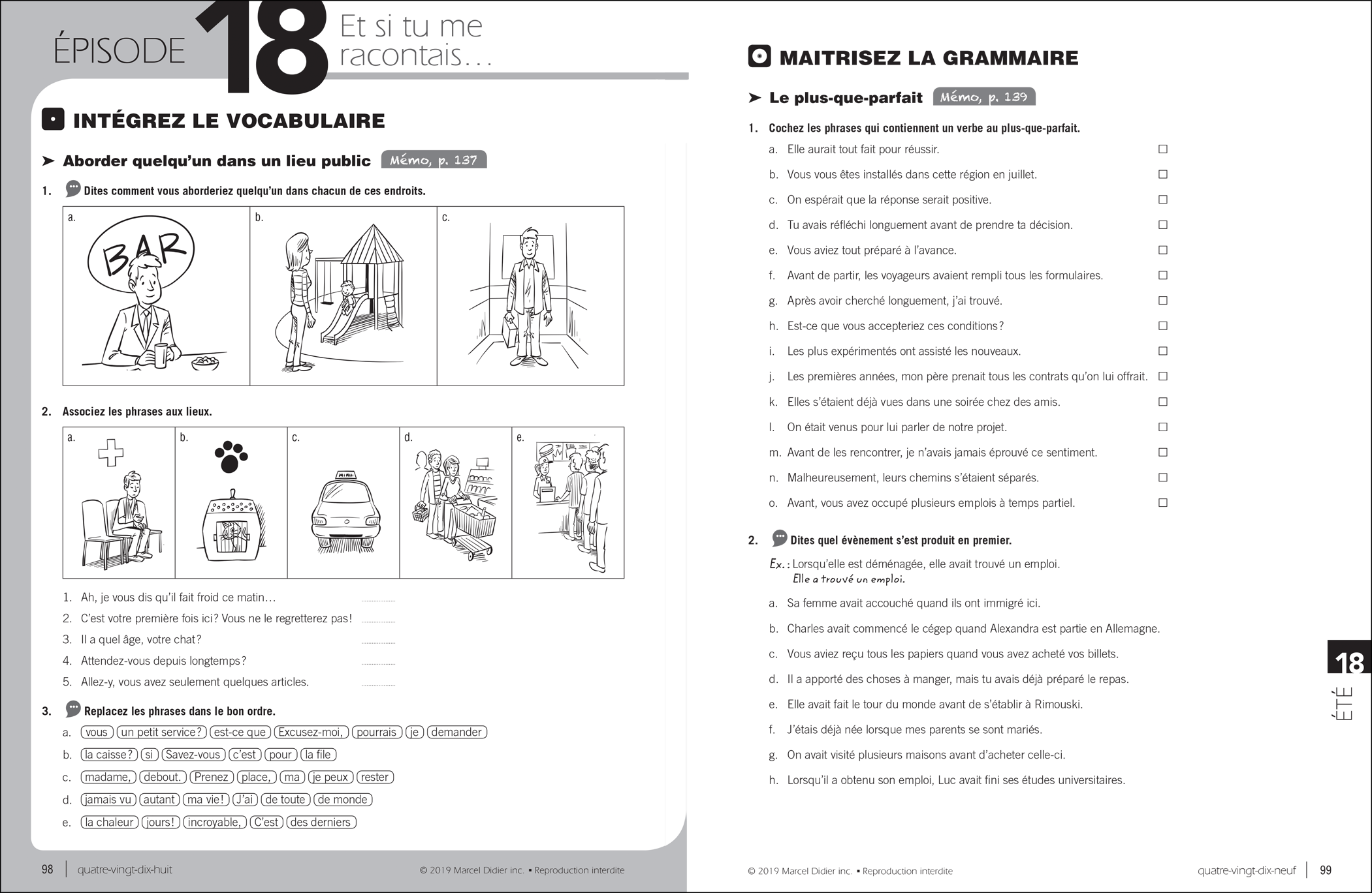 Par ici – exercise book B1/5-6