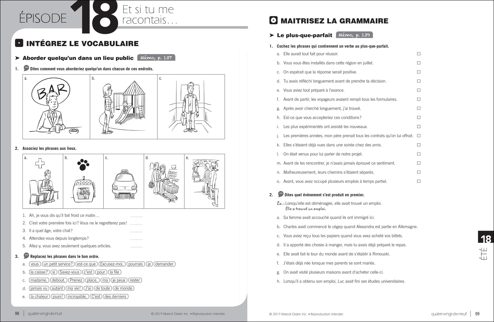 Par ici – exercise book B1/5-6
