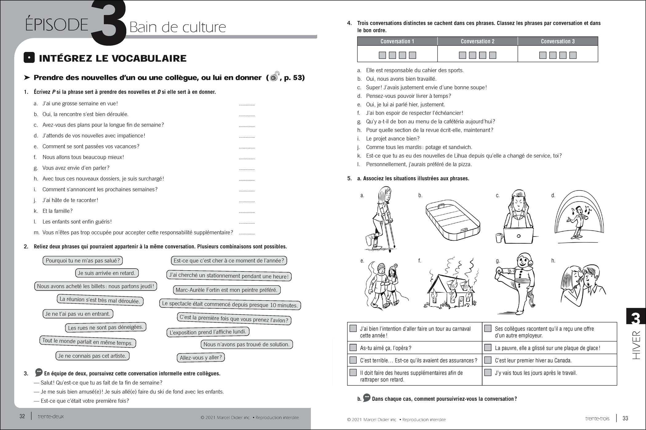 Par ici – cahier d'exercices B2/7-8